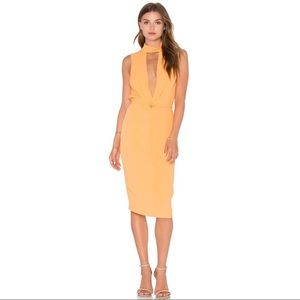 NWT Bec & Bridge Sunrise Dress in Apricot